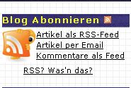 RSS Links