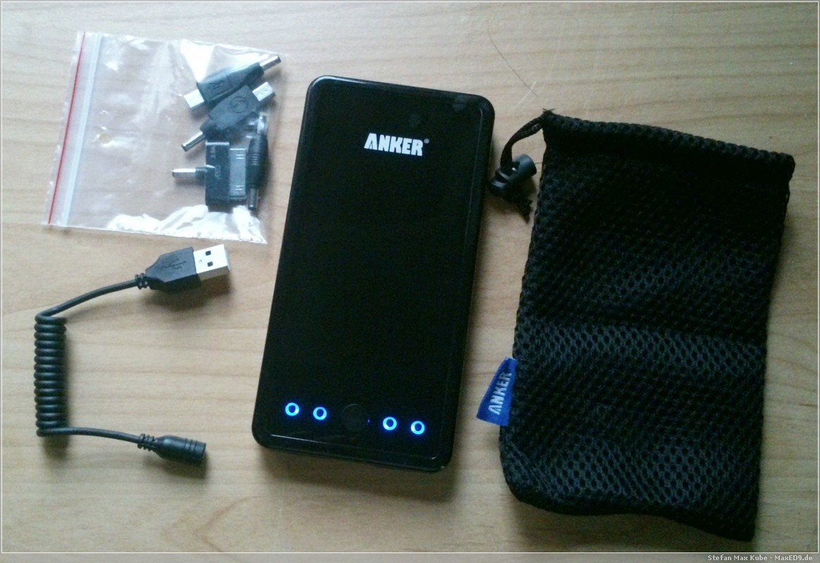 Anker Astro3E Lieferumfang