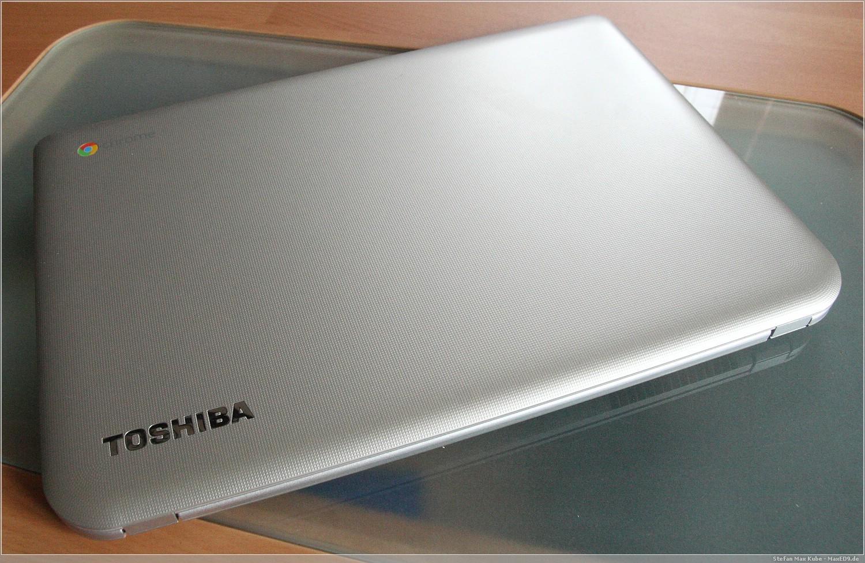 Toshiba Chromebook silber