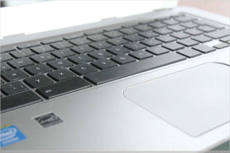 Toshiba Chromebook Tastatur und Touchpad