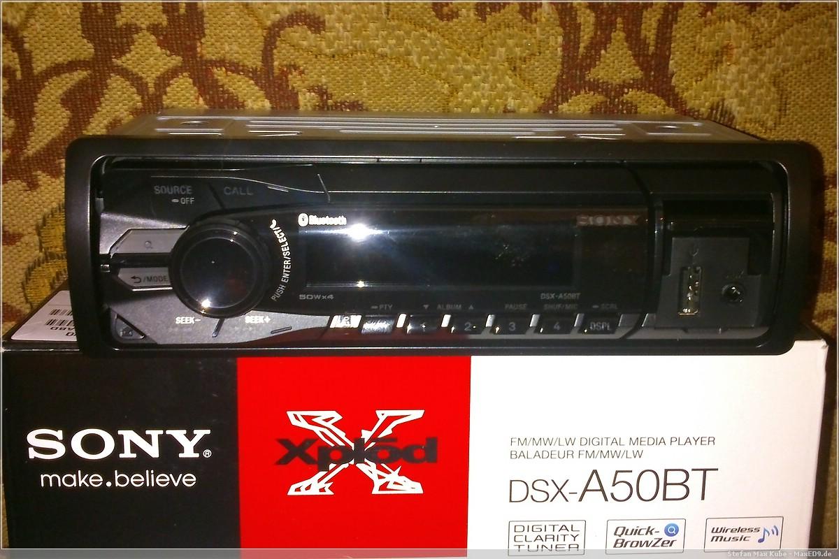 Autoradio mit Bluetooth, USB und AUX