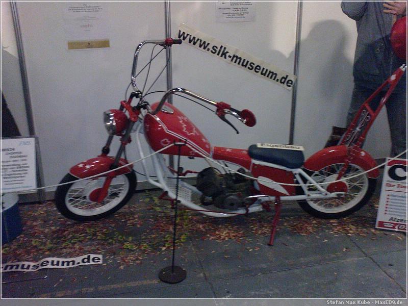 {bmt} Chopper mit brutalen 50cm und 3,6 PS