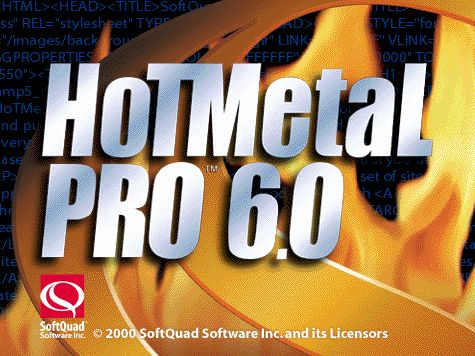 {hm6} HoTMetaL 6 Pro