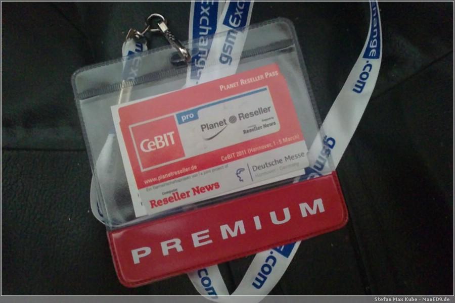 CeBIT Planet Reseller Premium Pass