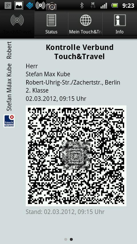 {tat} Verbund Fahrkarte