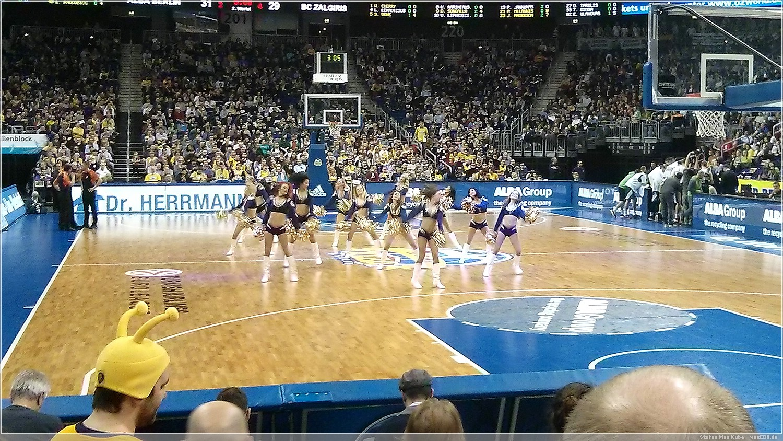 Pausenprogramm Cheerleader