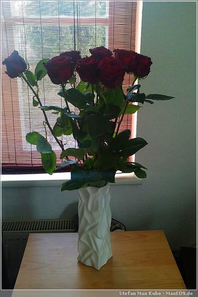Vase mit Inhalt