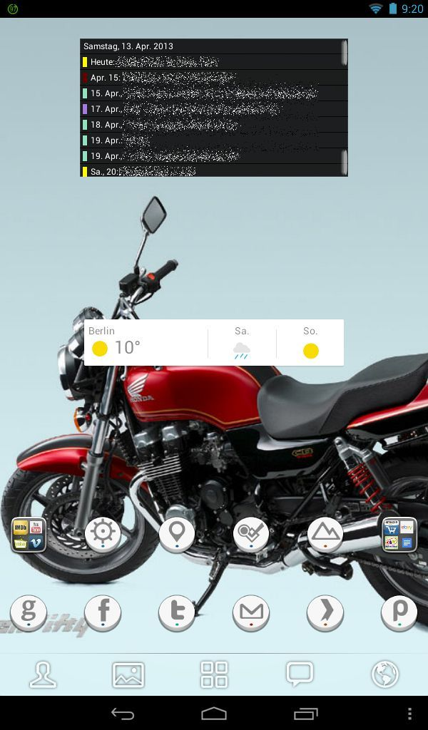 Homescreen (Go Launcher EX)