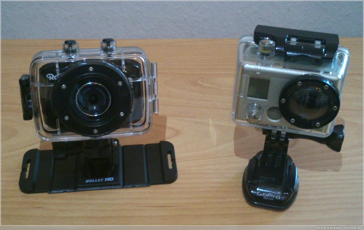 Rollei und GoPro