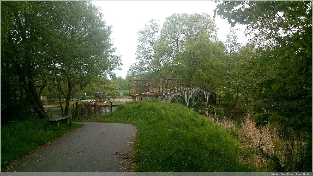 alte Brücke über die Fine