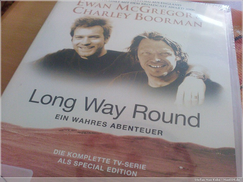 Long Way Round DVD