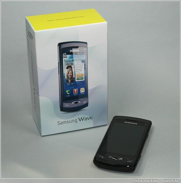 {sw} Samsung Wave mit Lieferkarton