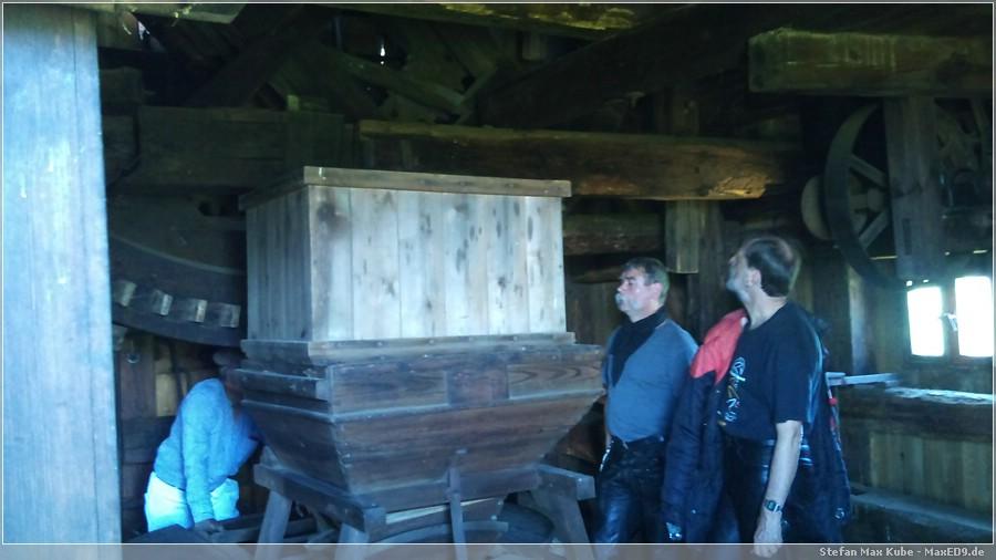 {hfk} das Innere der Mühle