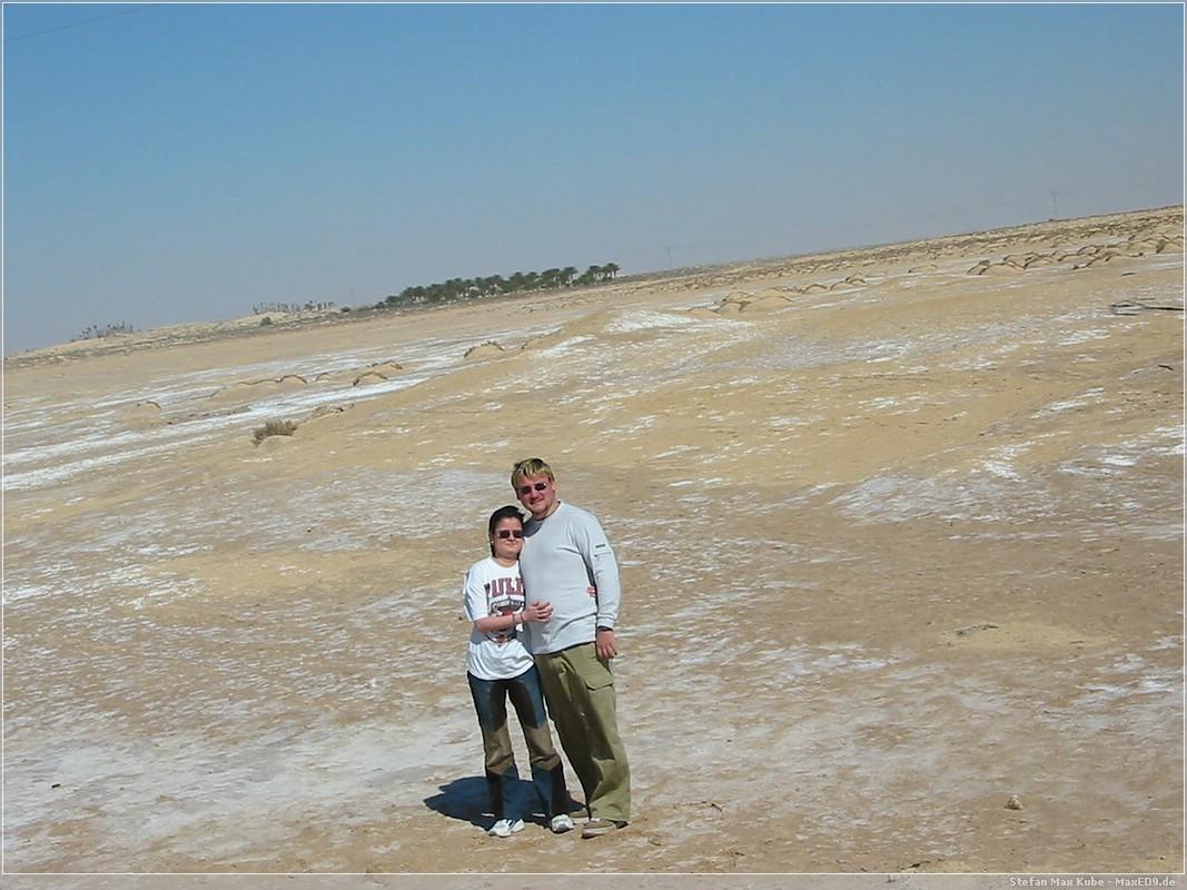 Salzsee Chott el-Jerid (Sahara)