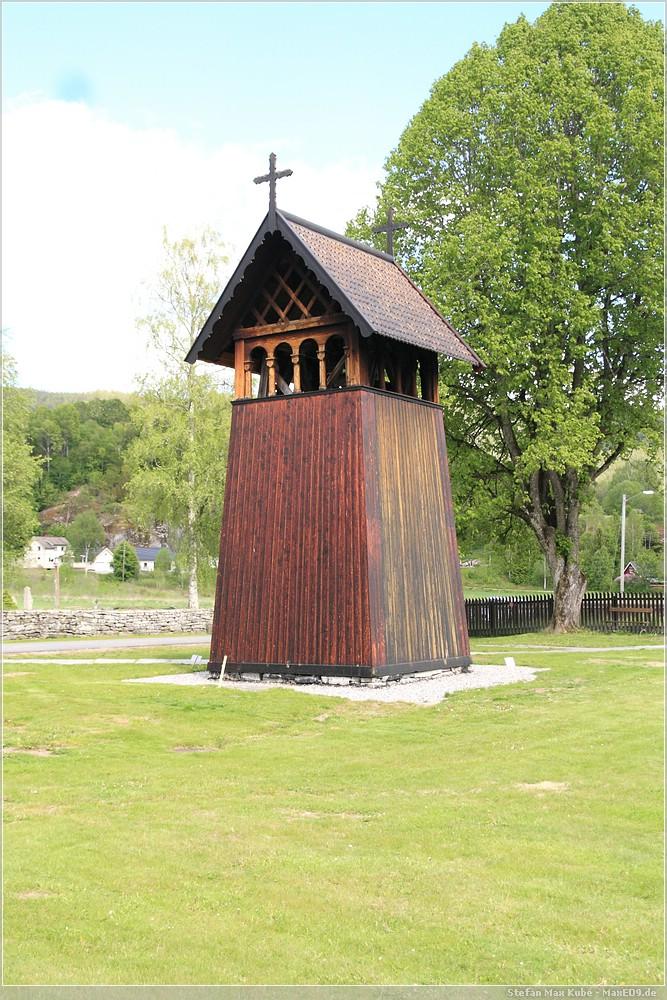 Stabkirche Heddal Glockenturm