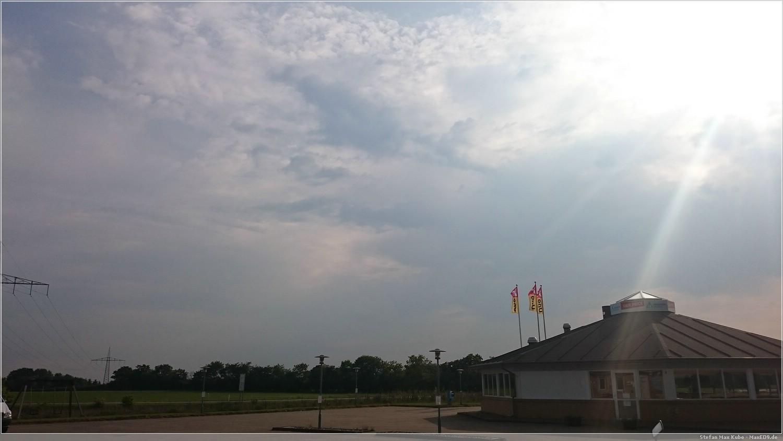 Himmel über Padborg