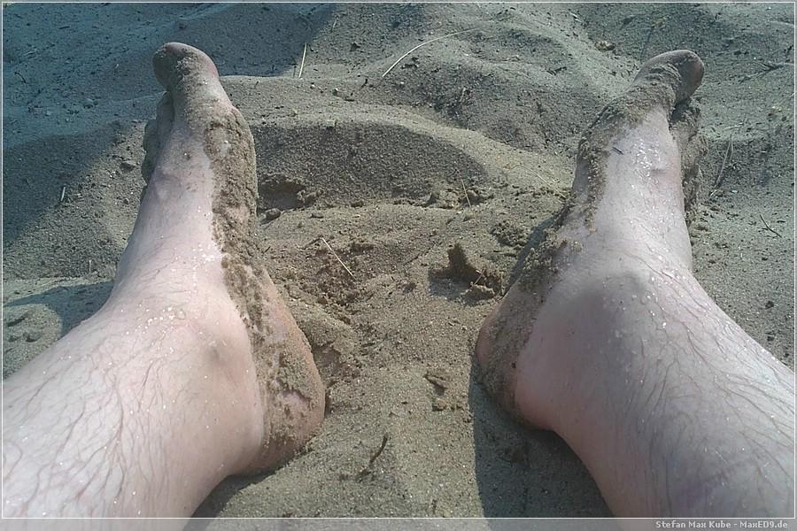 {msb} Sand zwischen den Zehen