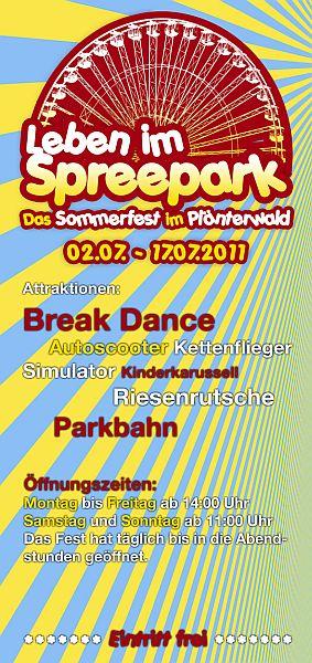 {sis} Spreepark Flyer