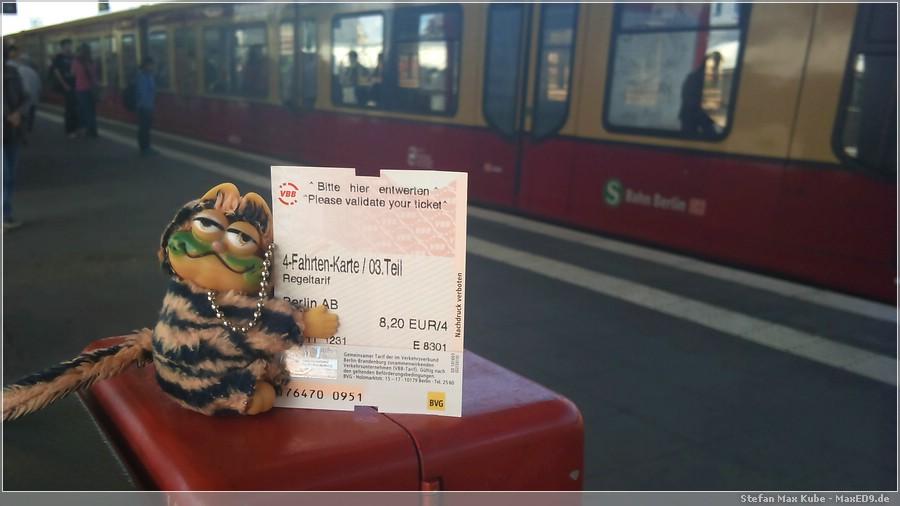 {sst} Warten auf die S-Bahn
