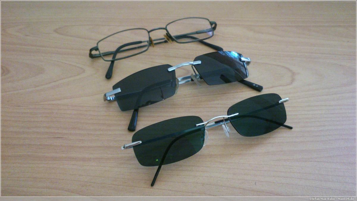 Brillenparade, vorn die Onlinebrille