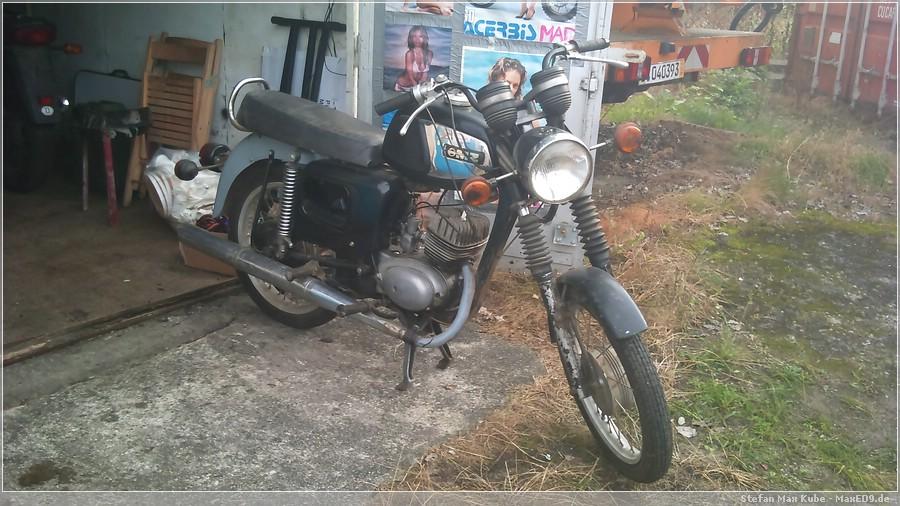 {ts} TS 150 in der Garage