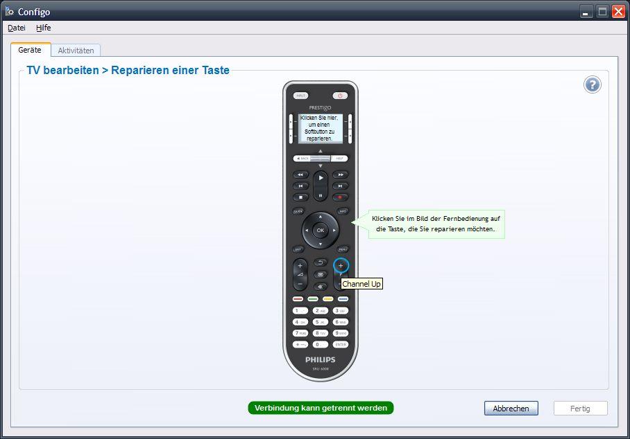 {ppr} Taste reparieren/umprogrammieren