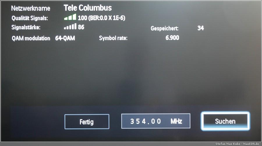 {smf} Anzahl der Kanäle