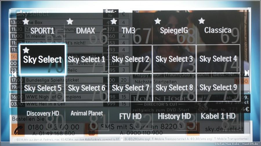 {smf} Sky Select 1-9
