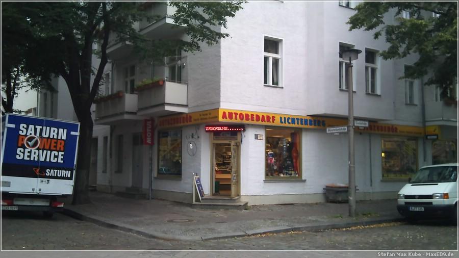 Autobedarf Lichtenberg