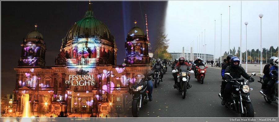 Festival of Lights - Mahn und Gedenkfahrt