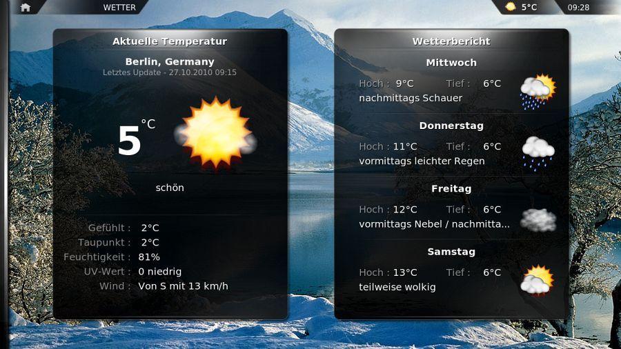 {xbmc} Wetteransicht