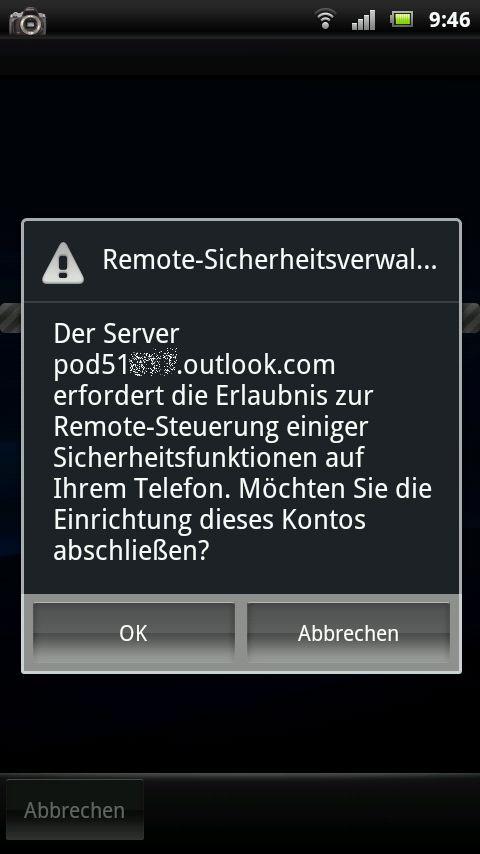 Remote-Sicherheitsverwaltung