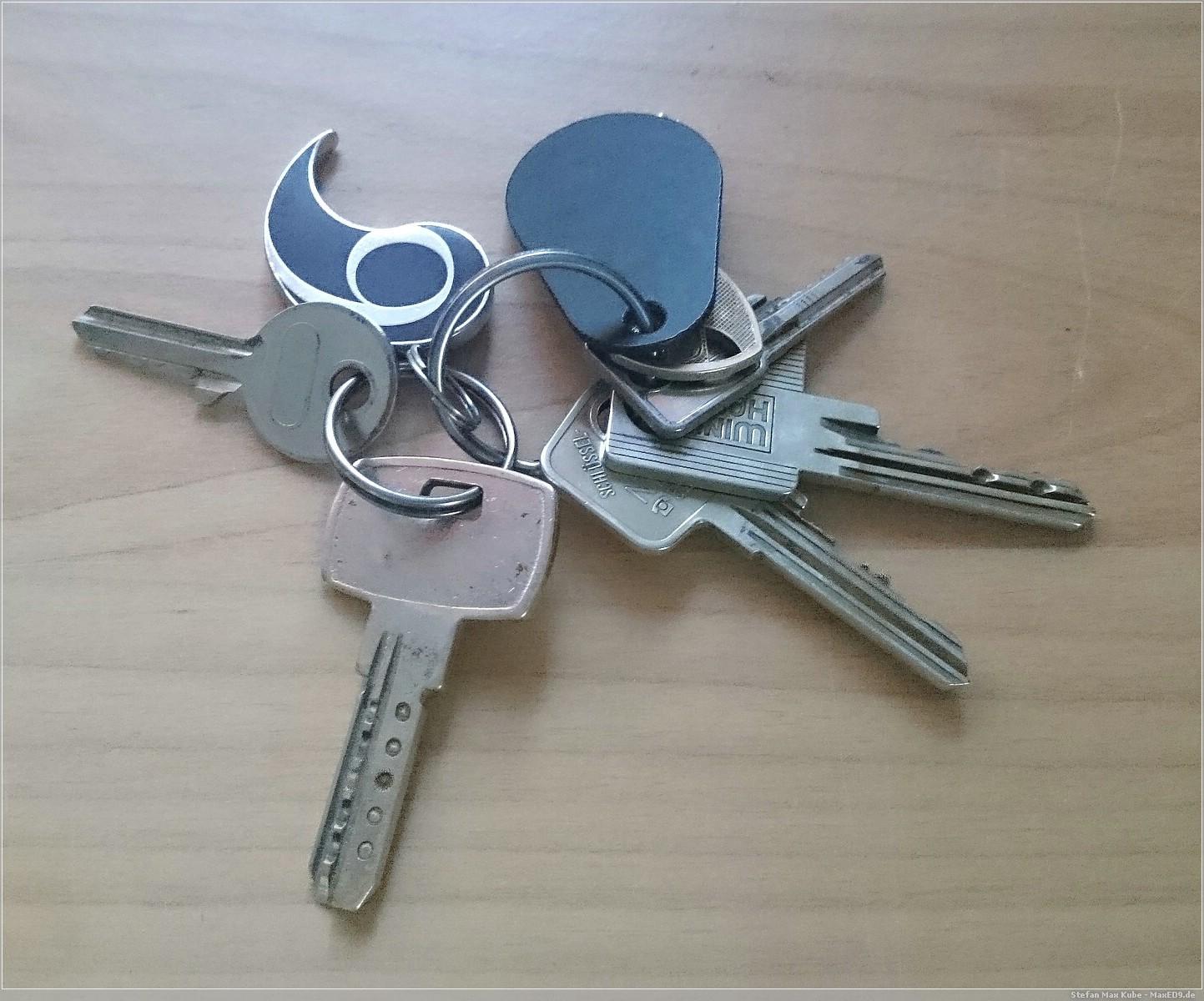 Vorher: Schlüsselbund