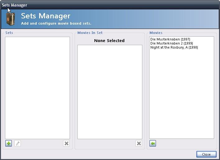 {emm} Sets Manager