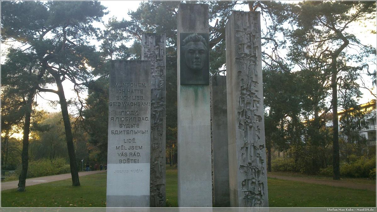 Julius_Fučík Denkmal