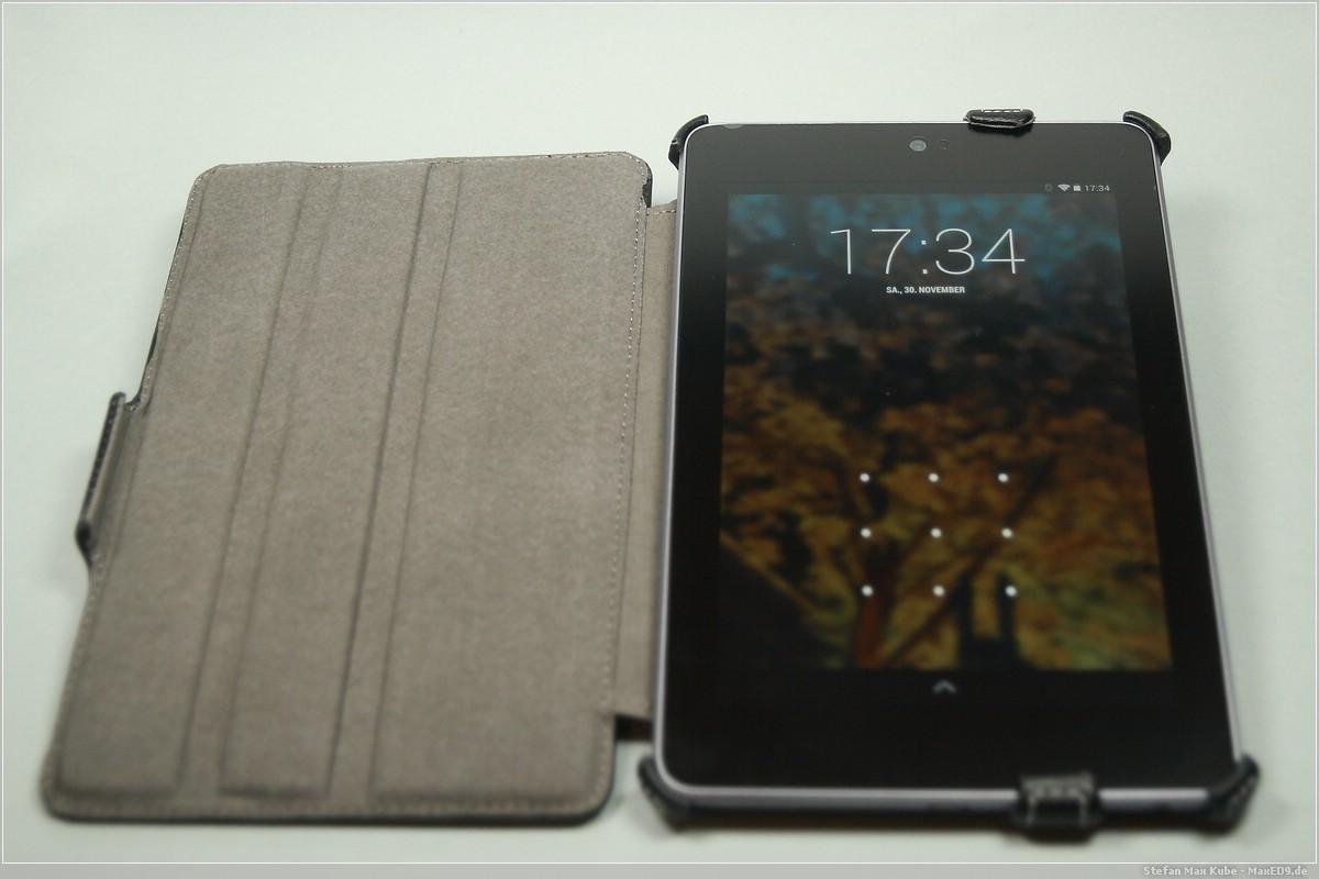 Nexus 7 in EasyAcc Hülle