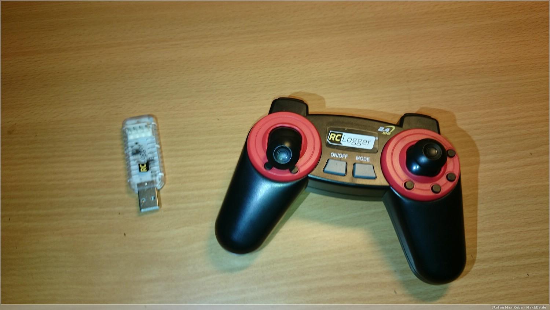 USB-Lader und Fernbedienung