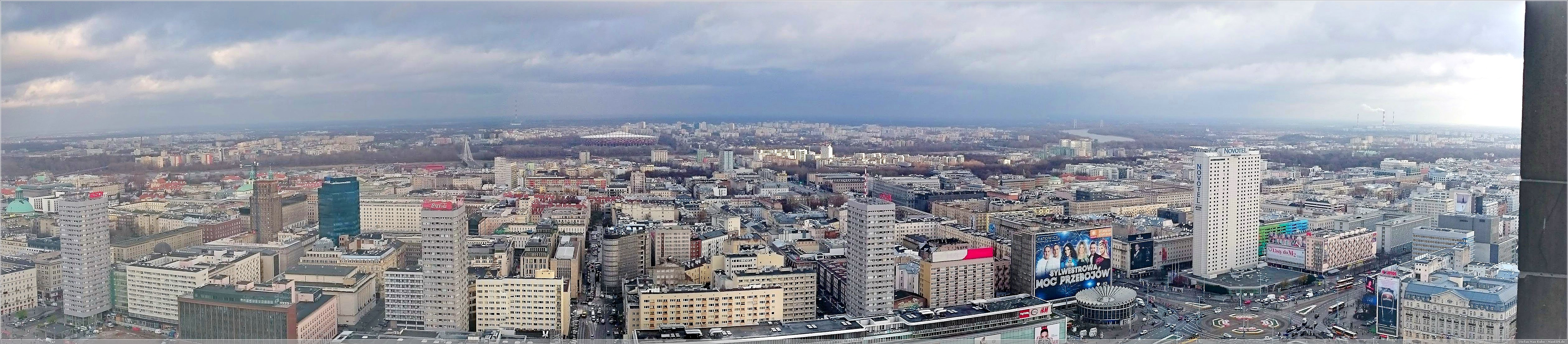 Marszałkowska von oben