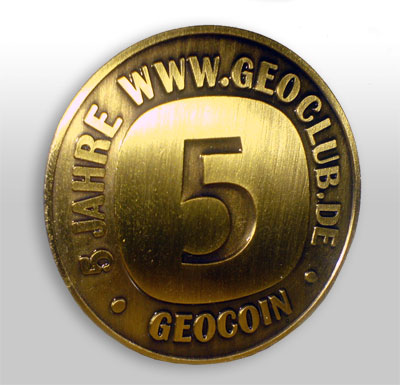 5 Jahre Geoclub Limited Edition Gold