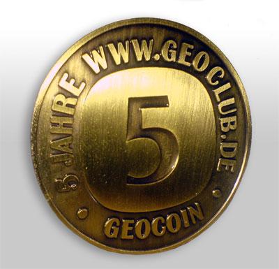 5 Jahre Geoclub Limited Edition Gold