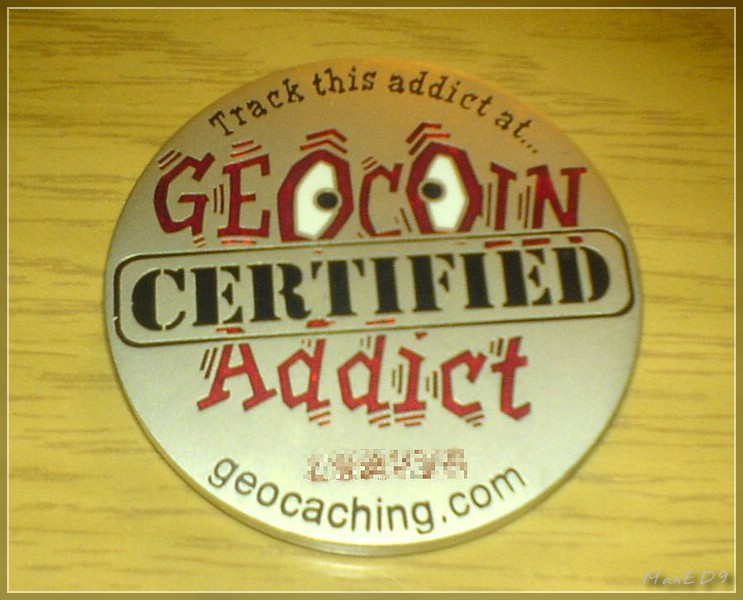 {dtmb} Geocoin Addict