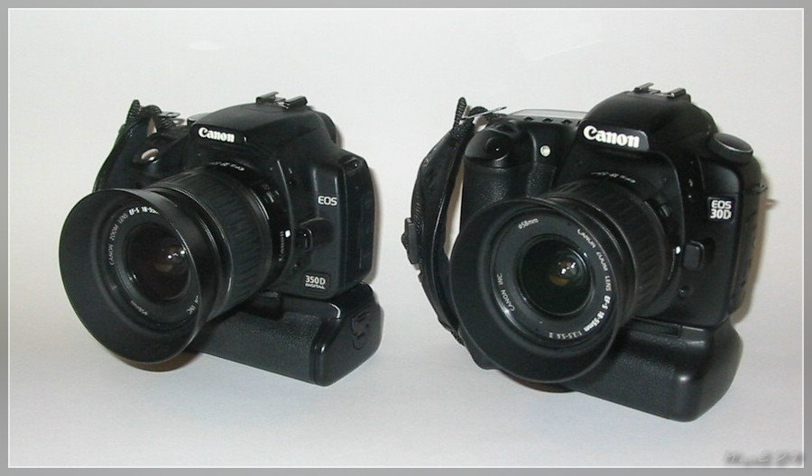 EOS 350D und 30D
