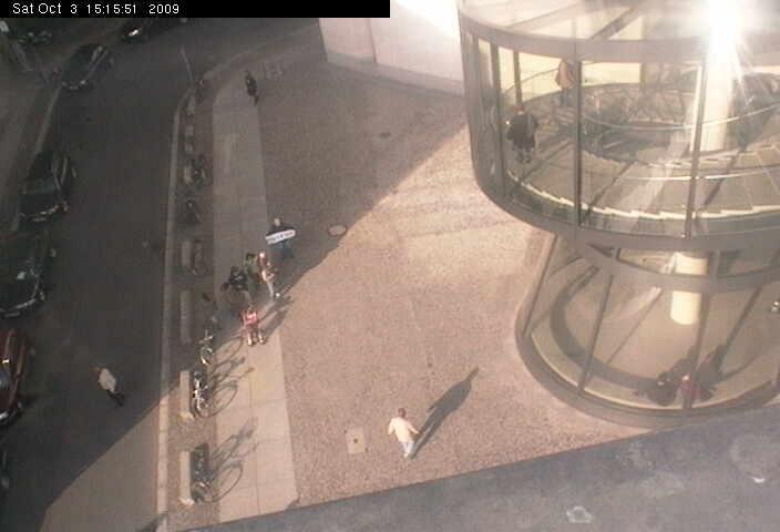 {eig} so siehts in der Webcam aus