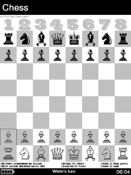 {ebook} Reader-Schach