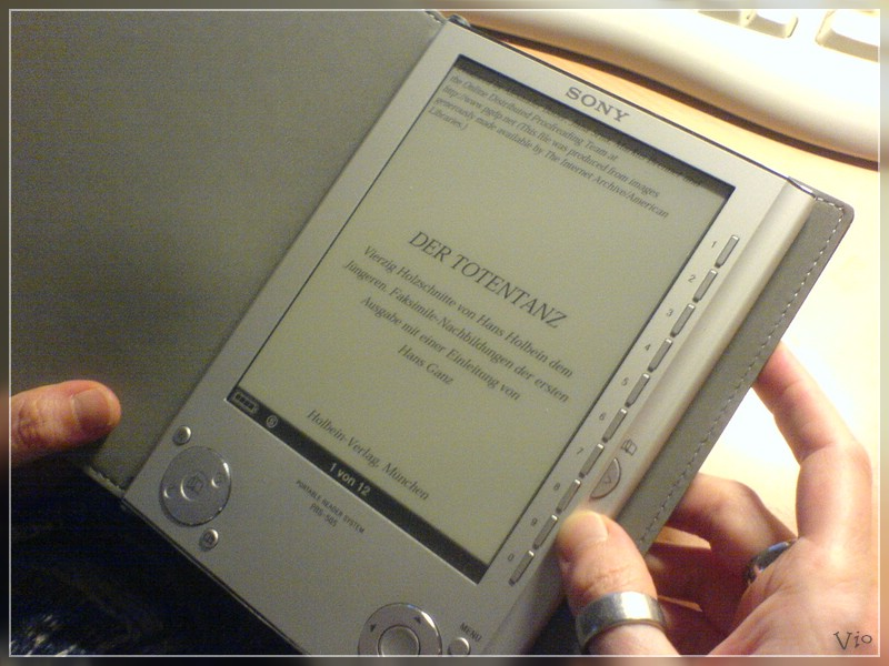 {prs} Ebook-Reader: Buchansicht