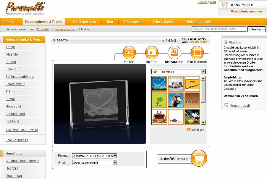 {pgf} Die Personello-Glasfoto-Seite