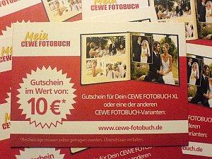 {cewe} CEWE Fotobuch Gutscheine