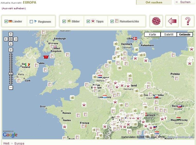 {tbgrc} Interaktive Karte