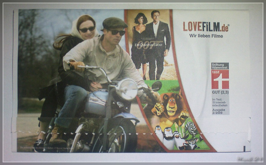Lovefilm - DVD per Post