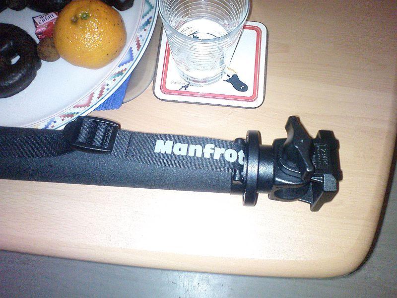 {xm09} Manfrotto Stativ und Kopf